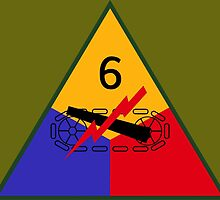 6th Armored Division (United States - Historical) by wordwidesymbols