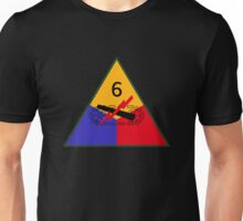 6th Armored Division (United States - Historical) Unisex T-Shirt