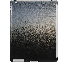 Wet glass black iPad Case/Skin