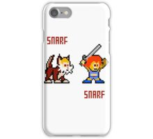 Thundercats 8bit Lion-O and Snarf iPhone Case/Skin