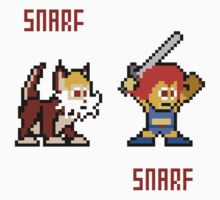 Thundercats 8bit Lion-O and Snarf One Piece - Long Sleeve