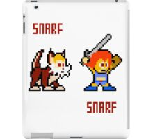 Thundercats 8bit Lion-O and Snarf iPad Case/Skin