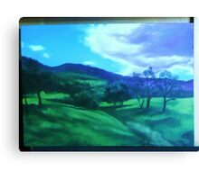 Landscape commission Canvas Print
