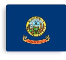 State Flags of the United States of America -  Idaho Canvas Print