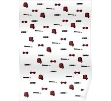 Doctor Who Eleventh patterns Poster