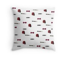 Doctor Who Eleventh patterns Throw Pillow