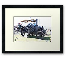 Patent Oil, Traction Engine England, 1897. Framed Print