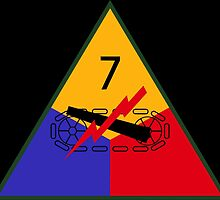 7th Armored Division (United States - Historical) by wordwidesymbols