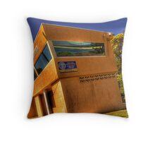 coast watch Throw Pillow