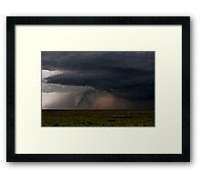 Boise City Tornado Framed Print