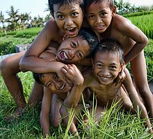 Boys Bali by Anne Young