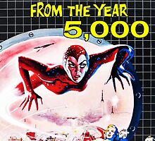 Terror from the year 5000 vintage by Vintage Designs