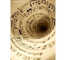 Music Surrounding Photographic Print
