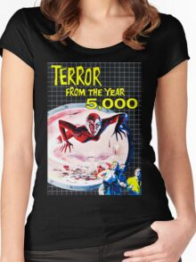 Terror from the year 5000 vintage Women's Fitted Scoop T-Shirt