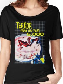 Terror from the year 5000 vintage Women's Relaxed Fit T-Shirt
