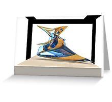 Virtual sculpture 4 Greeting Card