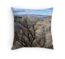Untamed West (Sagebrush) Throw Pillow