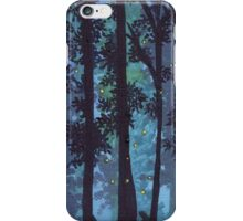 Twilight Woods and Fireflies. iPhone Case/Skin