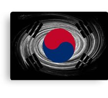 South Korea Twirl Canvas Print