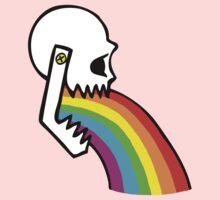 Rainbow Vomit One Piece - Short Sleeve