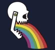 Rainbow Vomit Kids Tee