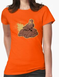Napalm Mashup Womens Fitted T-Shirt