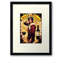 Wine & Bananas Framed Print