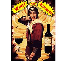 Wine & Bananas Photographic Print