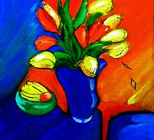 Tulips on My Table by GloriaDK