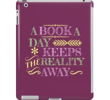 A book a day... iPad Case/Skin