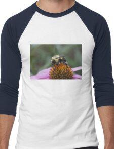 Pretty in Pollen Men's Baseball ¾ T-Shirt