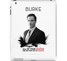Awesome Series - Burke iPad Case/Skin