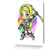 Lux League of Legends Greeting Card