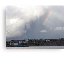 Rainbow Over the Archipelago  - Gothenburg, Sweden Canvas Print