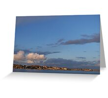 Red Roofs in the Swedish Archipelago - Gothenburg, Sweden Greeting Card