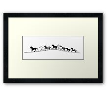 The Brow of the Hill Framed Print
