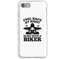 Feel Safe At Night iPhone Case/Skin