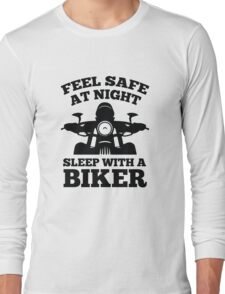 Feel Safe At Night Long Sleeve T-Shirt