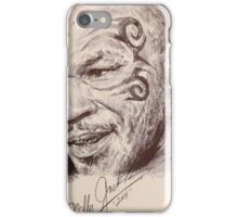 Portrait of Mike Tyson iPhone Case/Skin