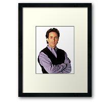 Jerry Seinfeld  Framed Print