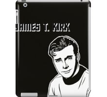 James T. Kirk iPad Case/Skin