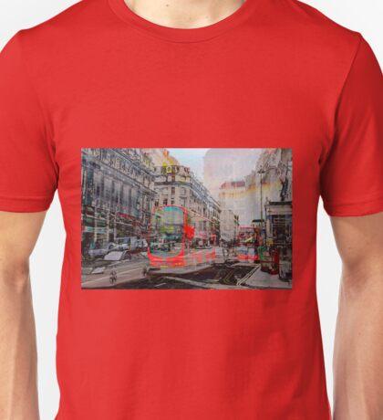 London IX - Red Buses Unisex T-Shirt