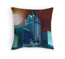 Red Sky © Throw Pillow