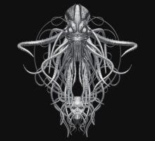 Cthulhu Pencil Sketch Effect by Steve Crompton