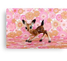 Bambi Love Canvas Print
