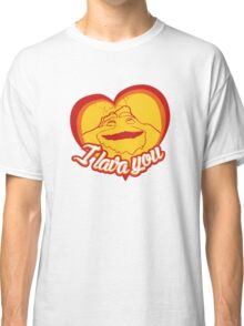 I Lava You (Heart) Classic T-Shirt