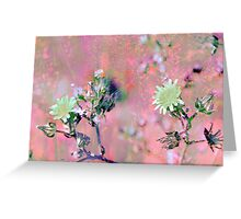 Botanical Abstract in Pastel VIII Greeting Card