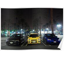 Subaru Family Poster