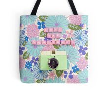 Love and Snapshots  Tote Bag