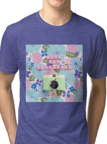 Love and Snapshots  Tri-blend T-Shirt